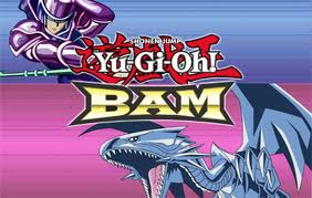 Yu-Gi-Oh! BAM Logo screen