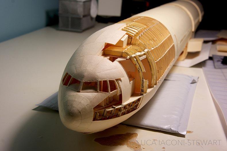 Boeing folders de papel manila