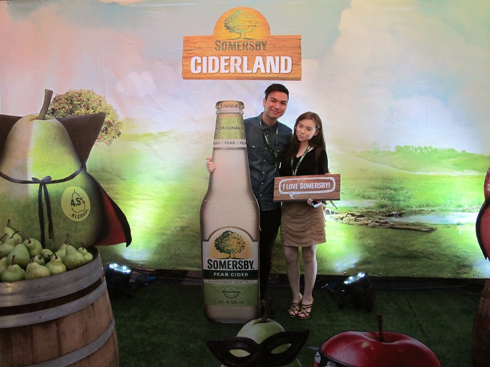 a guy and a girl in ciderland