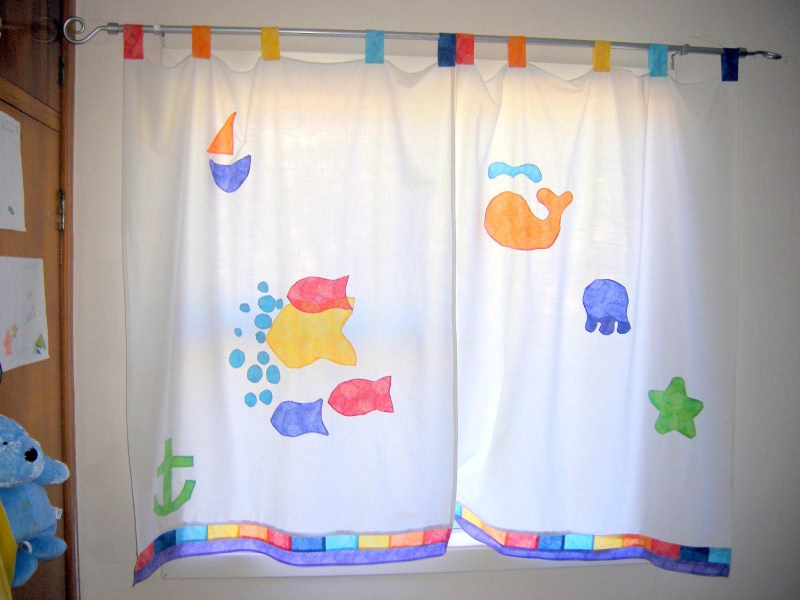 Cortinas para quarto for Cortinas cuarto bebe