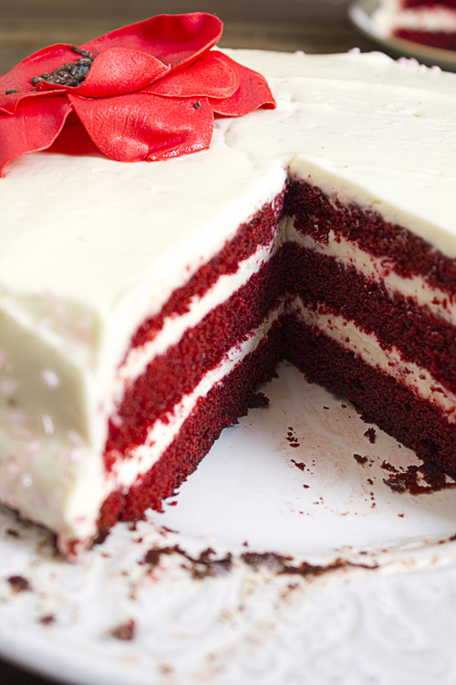 Red Velvet Cake.... mas vale tarde que nunca.
