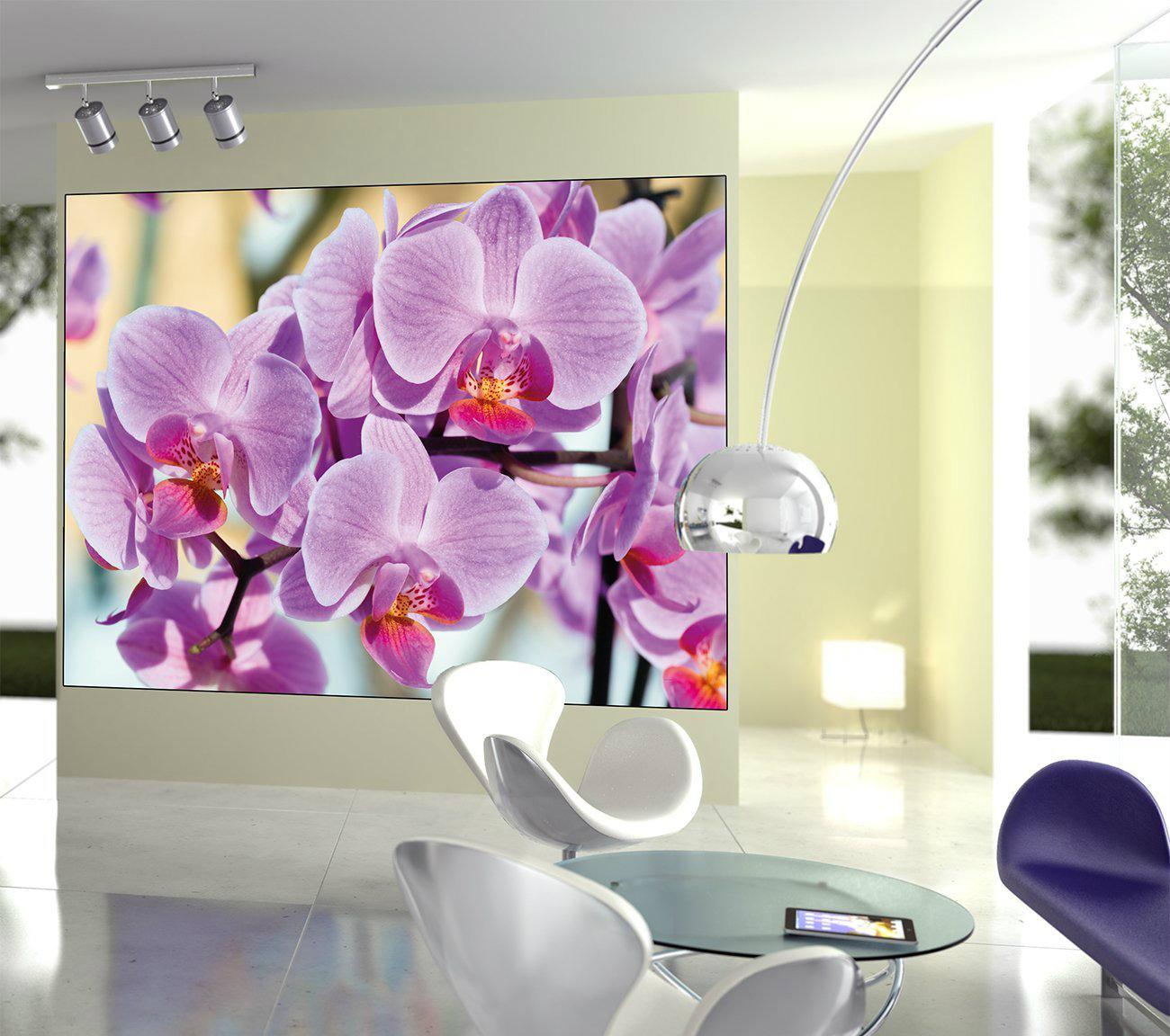 Murales de flores y jardines que decoran con encanto for Murales grandes para paredes