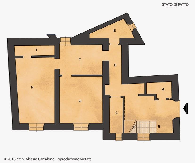 Alessio carrabino architetto un cantiere da sbloccare for Invertire piani di una casa di una storia e mezzo