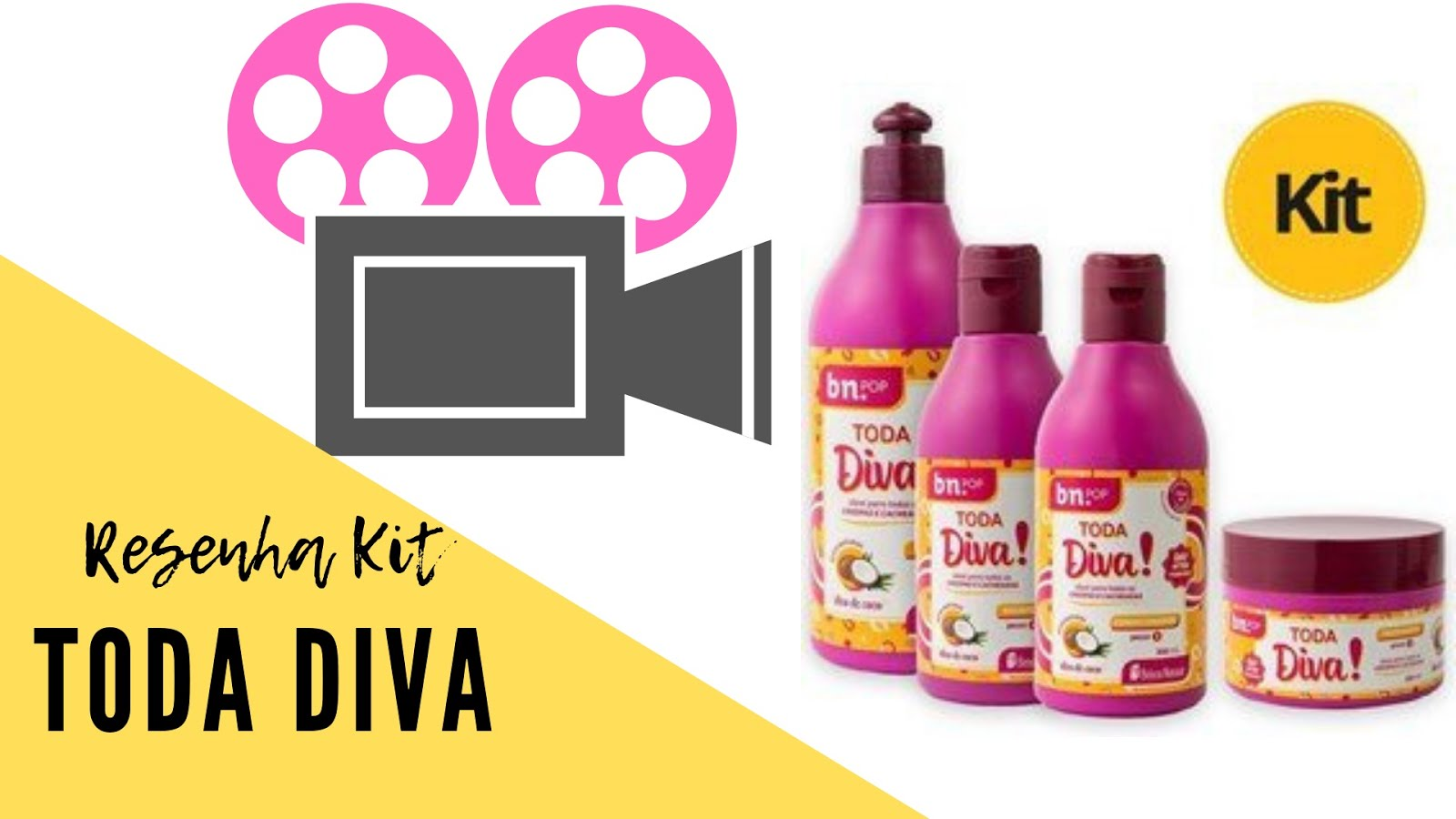 Resenha kit toda Diva Coco
