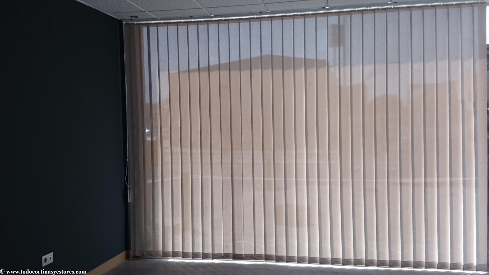 Decoracion interior cortinas verticales estores - Cortinas screen opiniones ...