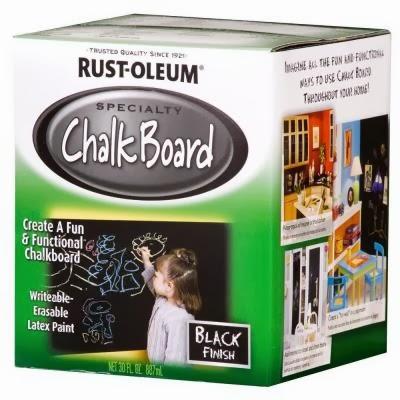 http://www.homedepot.com/p/Rust-Oleum-Specialty-30-oz-Flat-Black-Chalkboard-Paint-206540/100141287