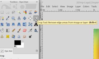 Cara Crop Gambar Menggunakan GIMP