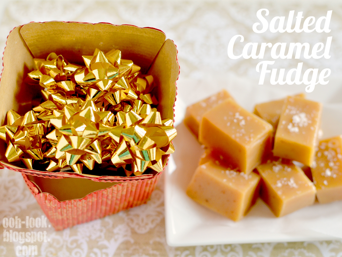 ... both astonished and delighted at finding this Salted Caramel Fudge