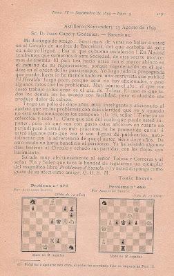 Escrito de Tomás Bretón a Juan Capó