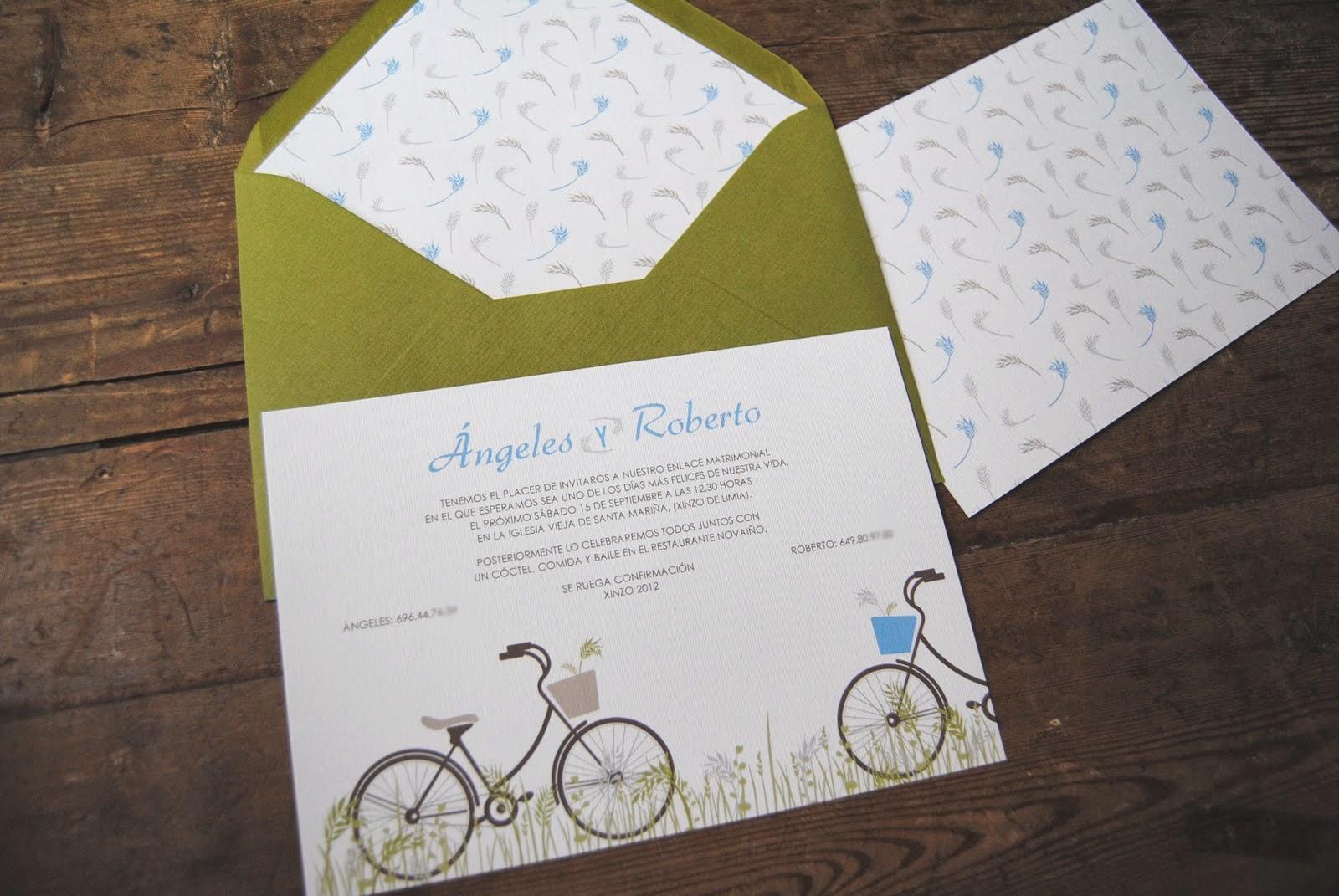 Bodas cucas 5 textos originales para invitaciones de boda - Tarjetas de invitacion de boda originales ...