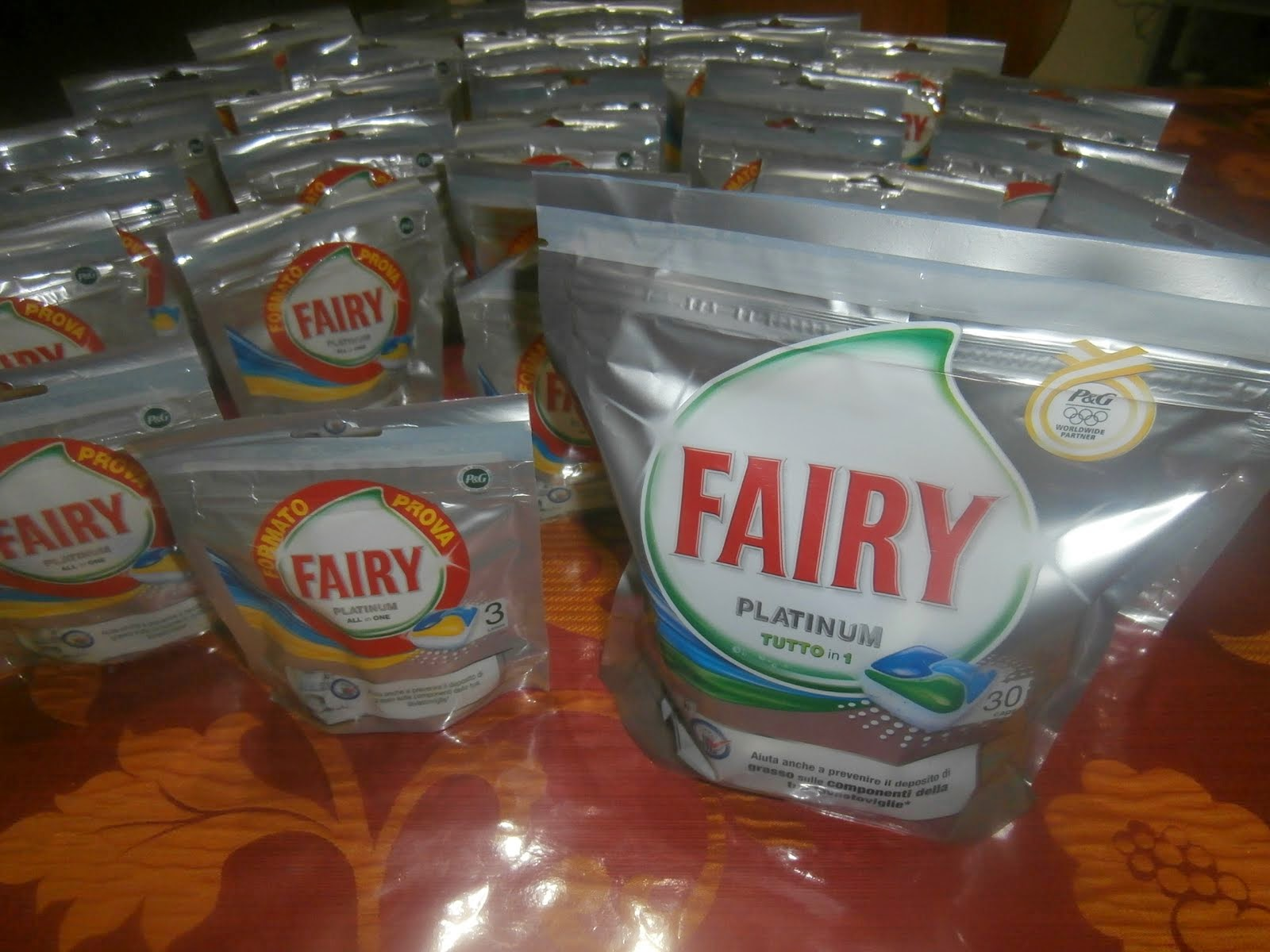 Collaborazione con  Fairy Platinum