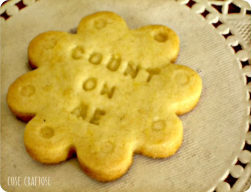 conversation cookies - count on me
