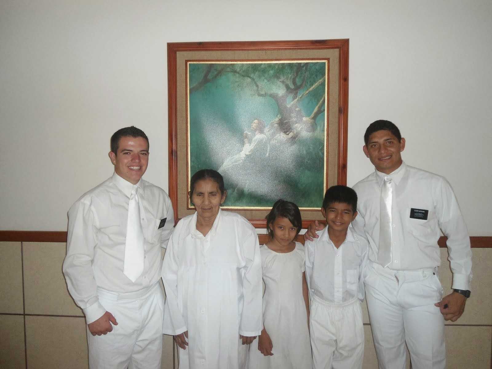 Three Baptisms, February 8, 2014