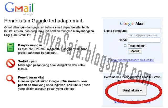 cara membuat email, membuat email di gmail, cara membuat email digmail
