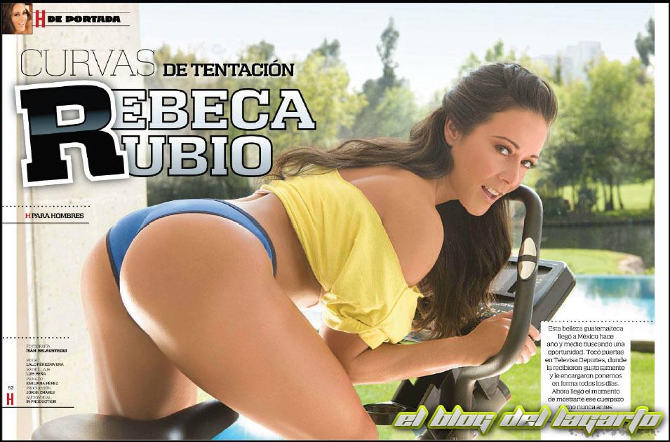 Rebeca Rubio H Para Hombres Marzo 2012 PDF Digital El Blog Del Lagarto