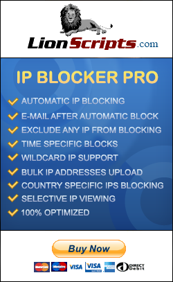 LionScripts WordPress IP Address Blocker Pro