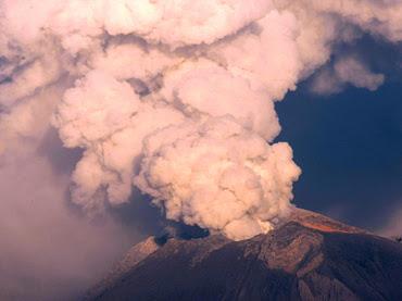Volcán Sakurajima 25 de Julio 2012