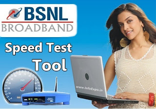How to Check Bsnl BroadBand internet Speed