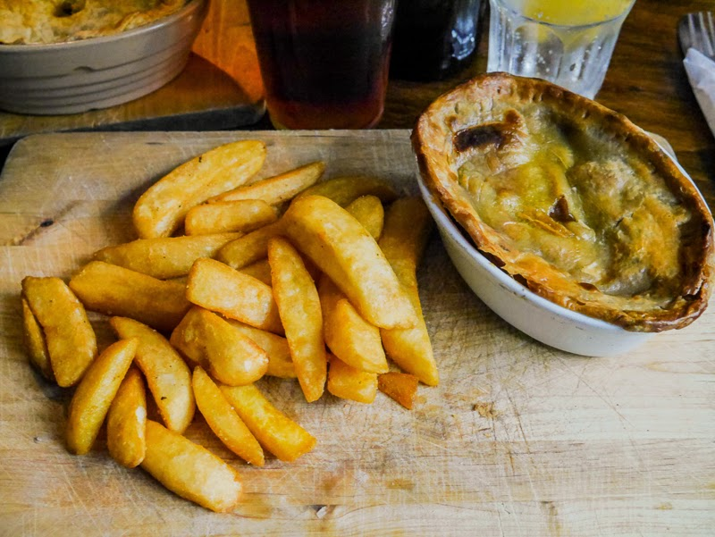 Lamb Stew Pie from the Bay Horse Pub