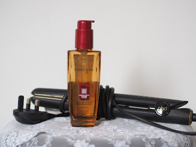 L'oreal Extraordinary Oil, GHD hair