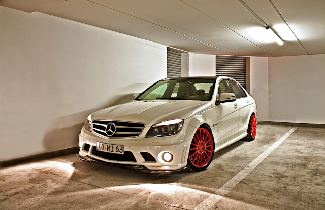mercedes c 204 custom wheels