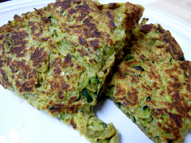 Cookin' Cowgirl: Zucchini and Chickpea Fritters