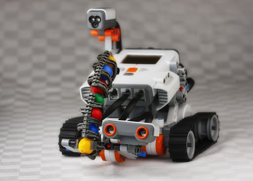 Lego Roboter Mindstorms Nxt Robot Building Instructions Shooterbot