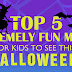 Top 5 Extremely Fun Movies for Kids to See This Halloween