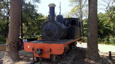 locomotora carrilet tortosa delta ebro
