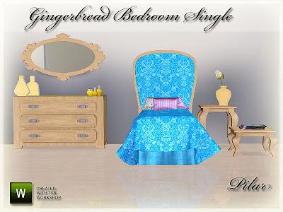 28-06-12 Dormitorio Individual Gingerbread