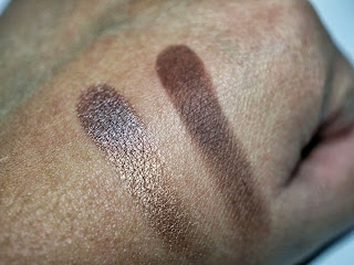 Swatches Sombras Mac