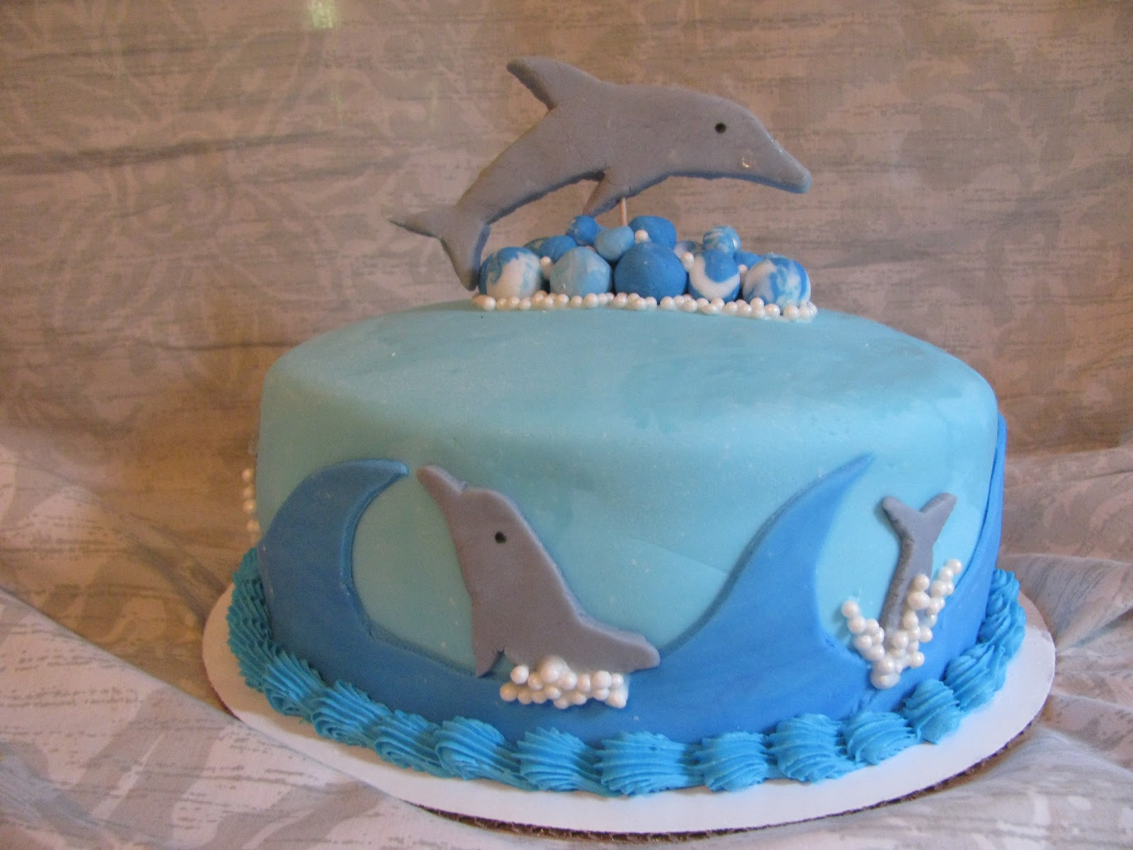 Homemade By Heather 33 Dolphin Birthday Cake