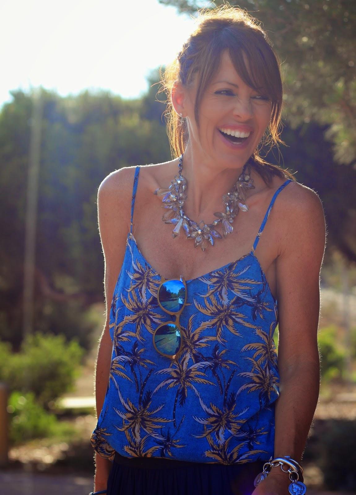 Outfit Verano 2014 - Tendencias 2014 - Palms print