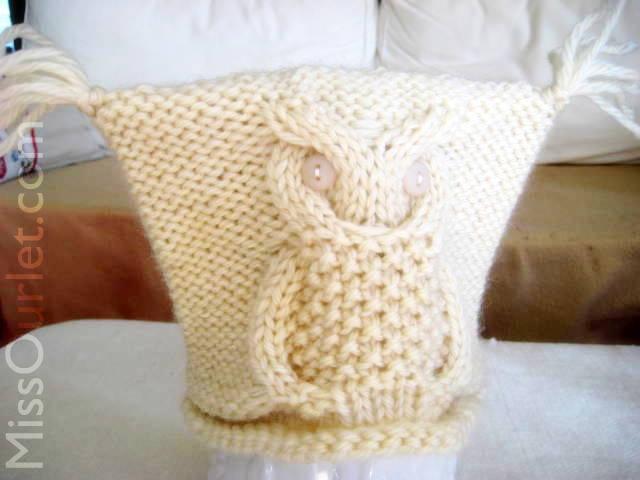 patron tricot gratuit hibou