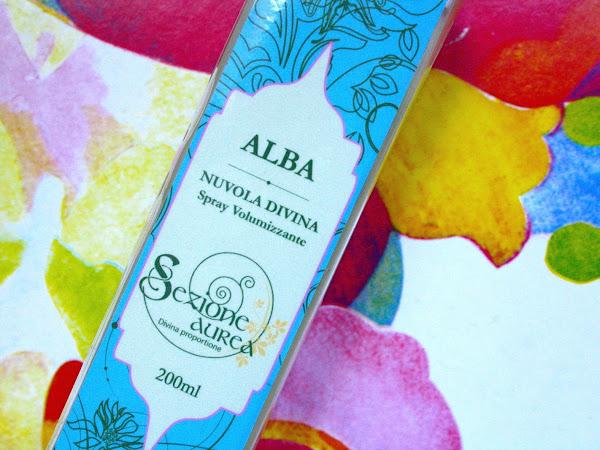 Alba, lo Spray Volumizzante di Sezione Aurea