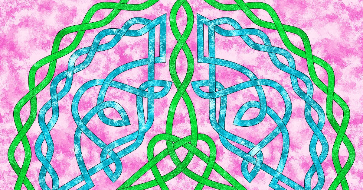 Don T Eat The Paste Peace Symbol Knot To Color