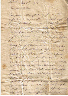 1863 Civil War Letter from George B. Atkins to his father from Camp Douglas, Illinois