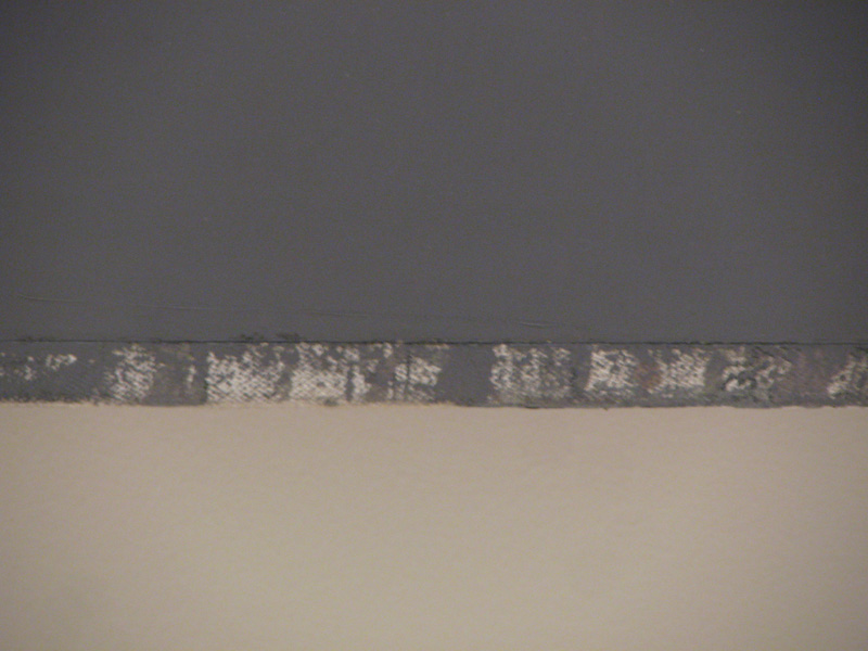 Brice Marden at SFMOMA - The Dylan Painting detail