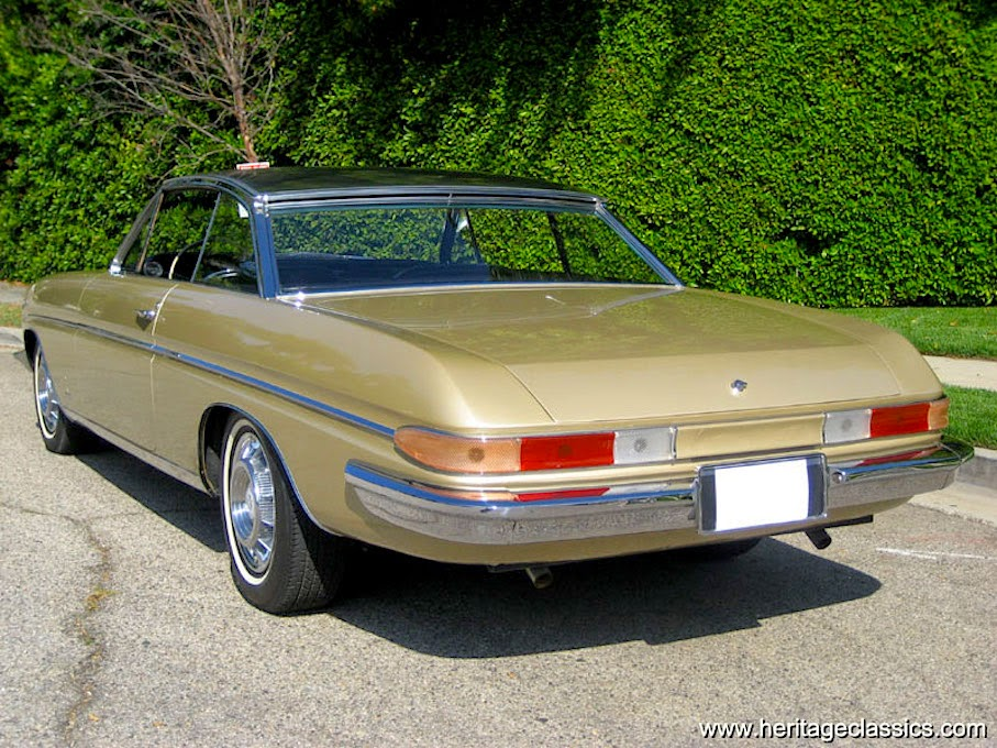 net cars show  1961 pininfarina cadillac brougham