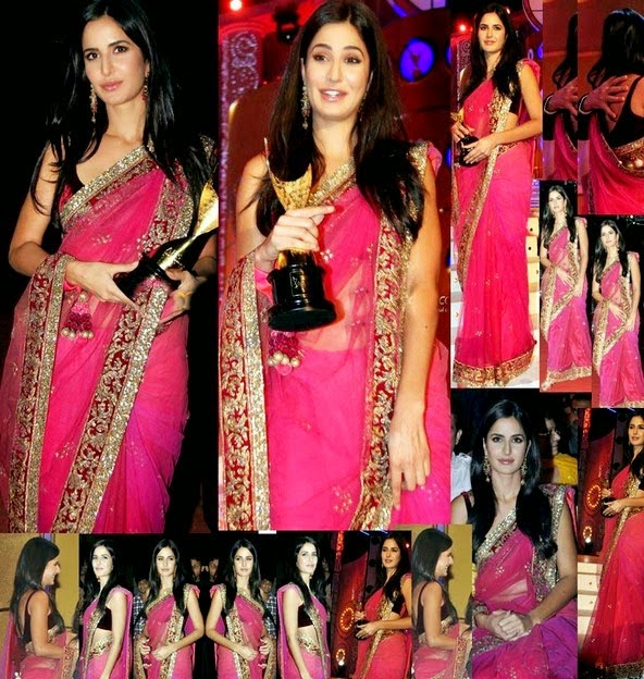 Bollywood Celebrity in Saree Dresses