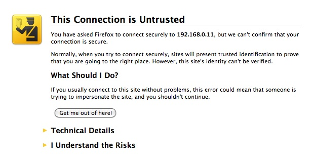 My ReadyNAS Blog: Installing an SSL Certificate on your ReadyNAS