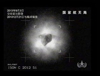 cometa Ison viene con dos ovnis a la Tierra