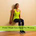 Front Thigh Exercises For Women