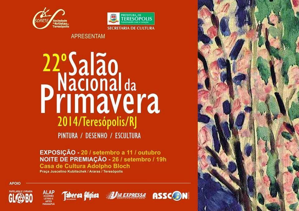 22º Salão Nacional da Primavera de Teresópolis tem noite de premiação nesta sexta