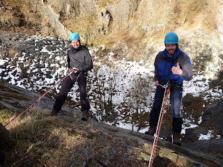 Lake District Ghyll Scrambling Sessions with Kendal Mountaineering Services.