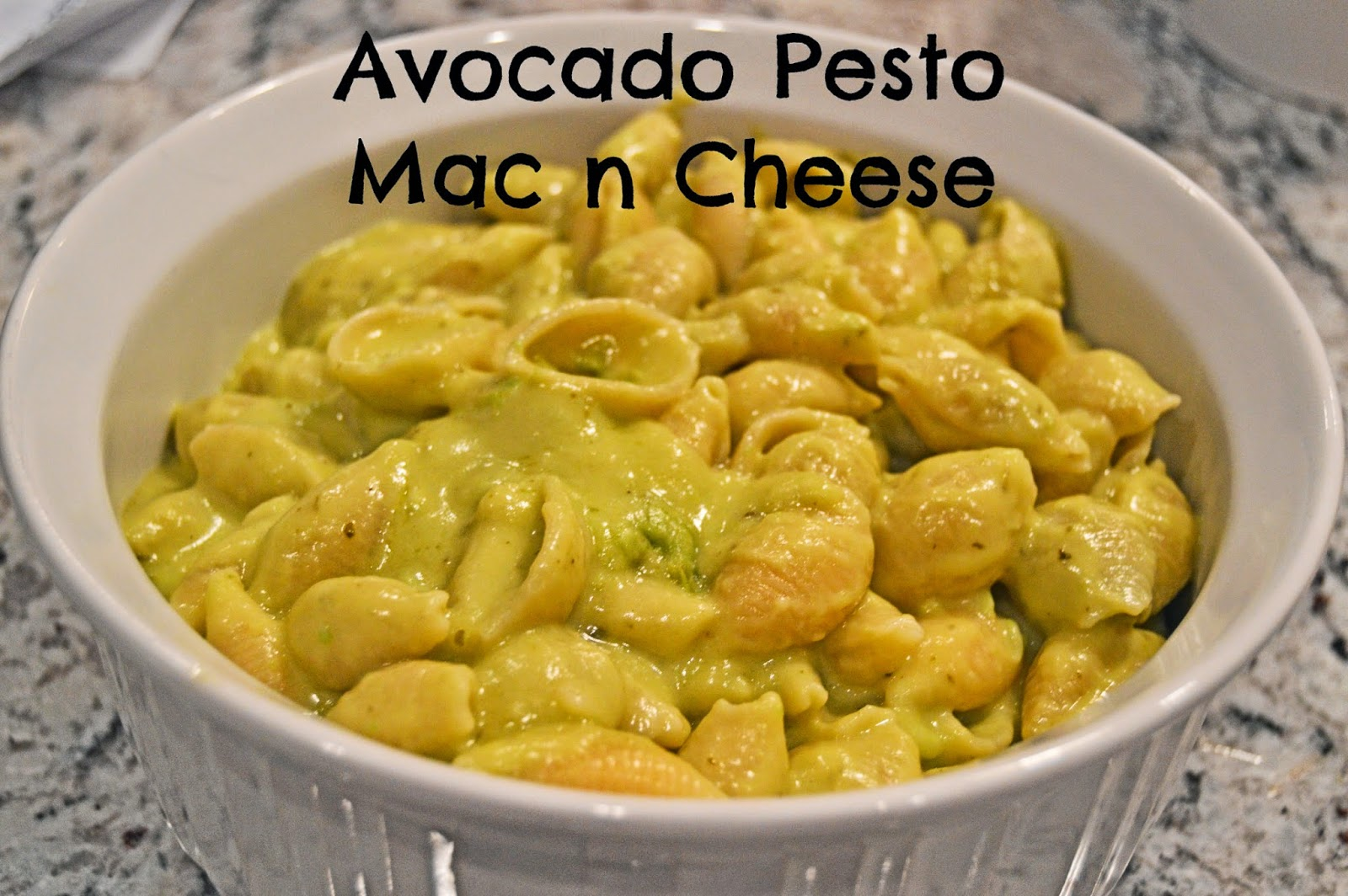 EASY Avocado Pesto Mac n Cheese Recipe