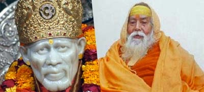 sai baba and shankracharya
