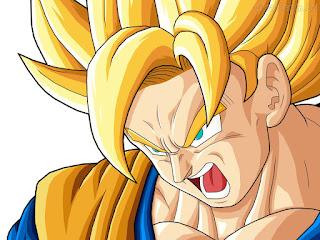 Model Rambut Son Goku Anime Keren
