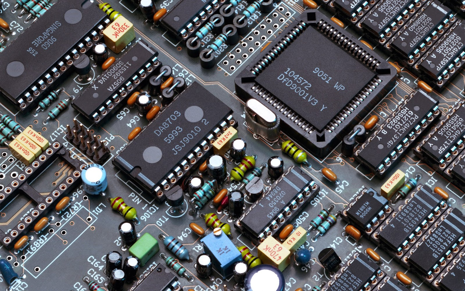 Circuito Electronico : Crucigrama sobre circuitos eléctricos y electrónicos de