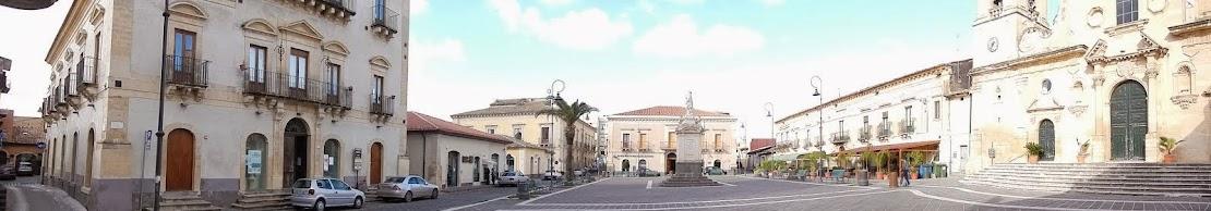 Piazza Umberto I - Scordia CT